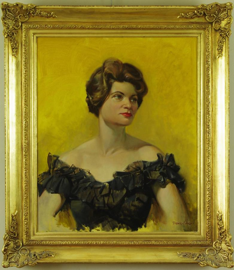 Gladys Symondson, by Terence Cuneo 1963