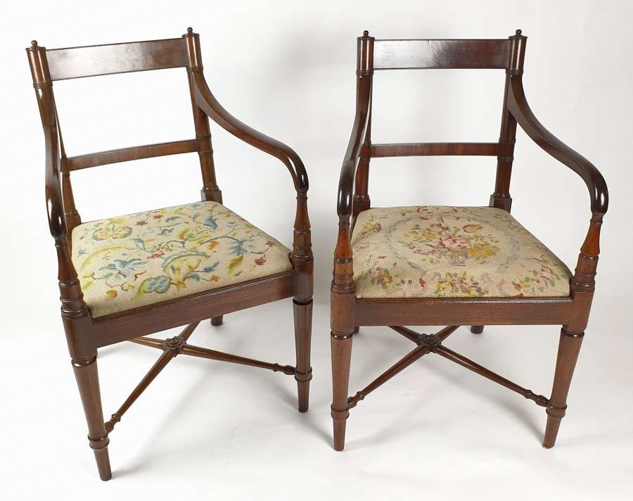 A Pair of Elbow Chairs