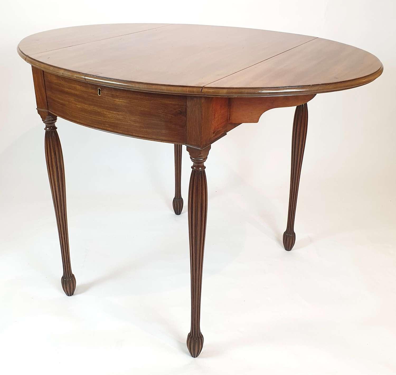Sheraton Oval Pembroke Table