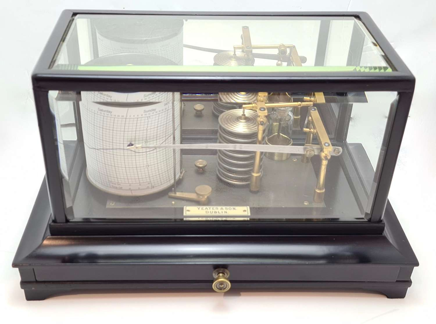 Display Barograph by Yeates & Son, Dublin