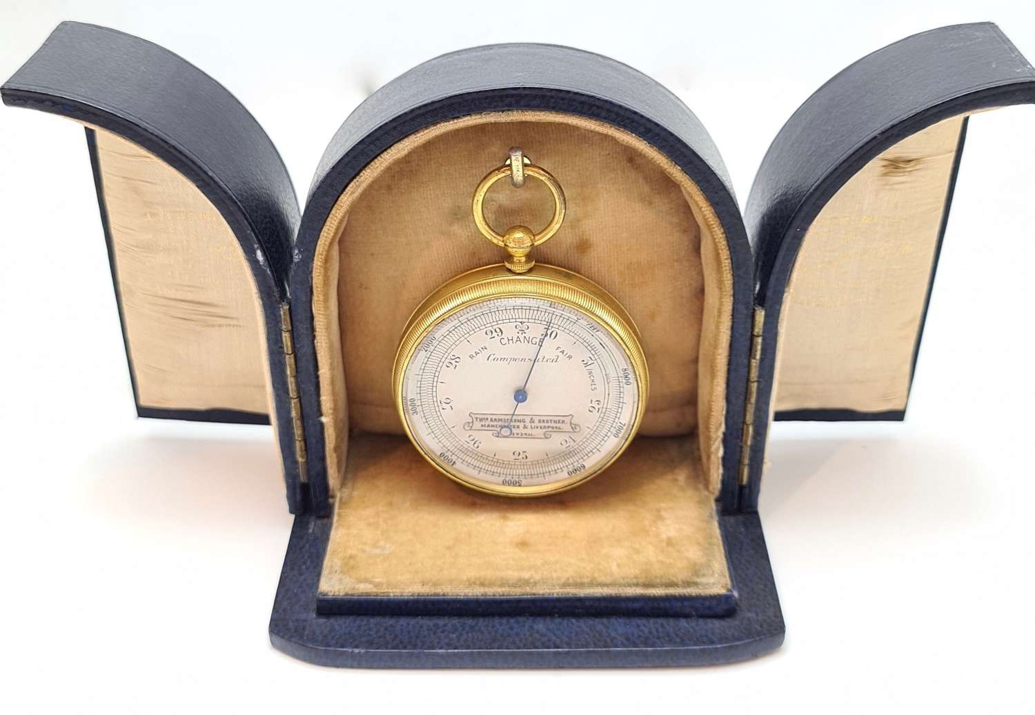 Pocket Barometer by Thos Armstrong & Brother