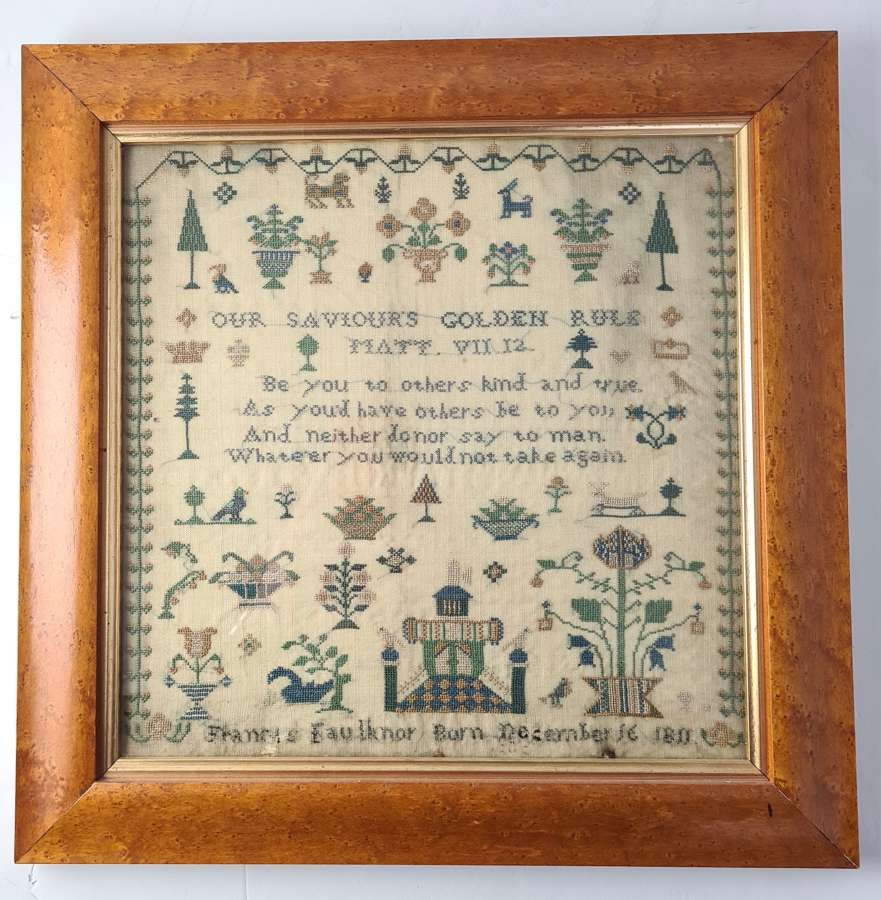 Frances Faulknor Sampler