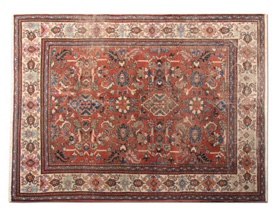 Antique Carpet, Antique Rugs Persian Mahal Rug