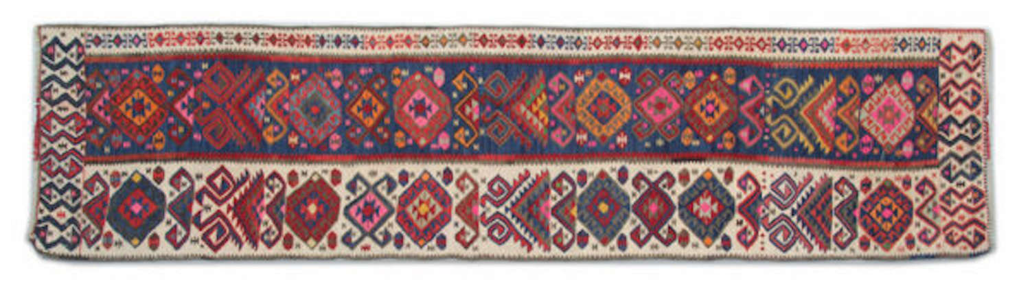 Antique Anatolian Turkish Kilim Runner