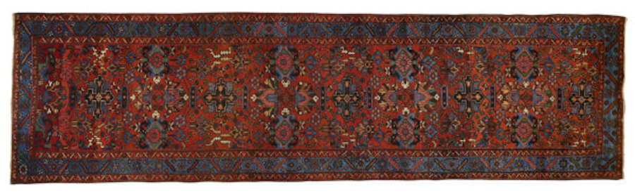 Antique Persian Karajeh Runner