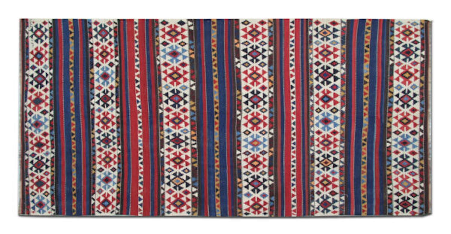 Antique Kilim Rugs / Antique Caucasian Kilim Rugs
