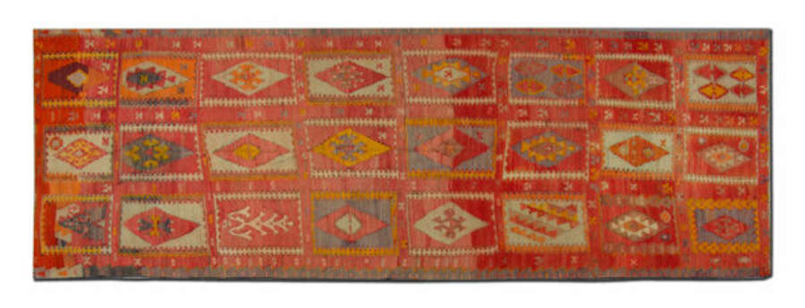 Antique Kilim Rugs, Turkish Rug