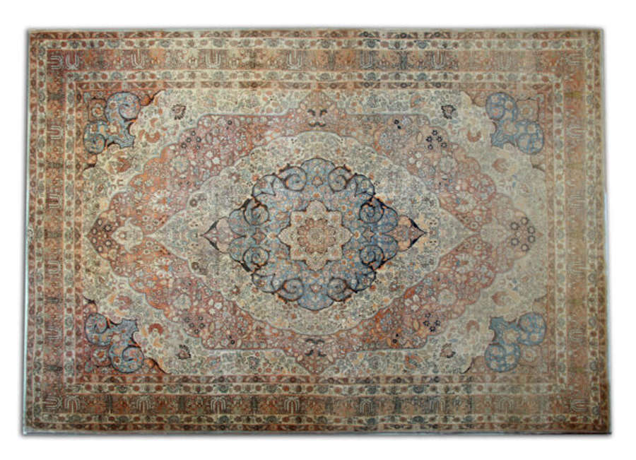 Antique Persian Haj Jalili (Tabriz) Carpet