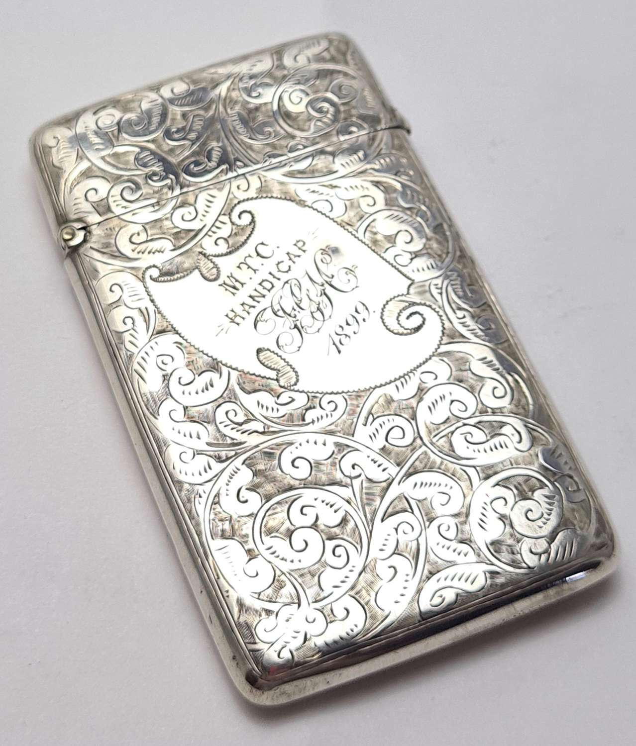 Silver Visiting Card Case