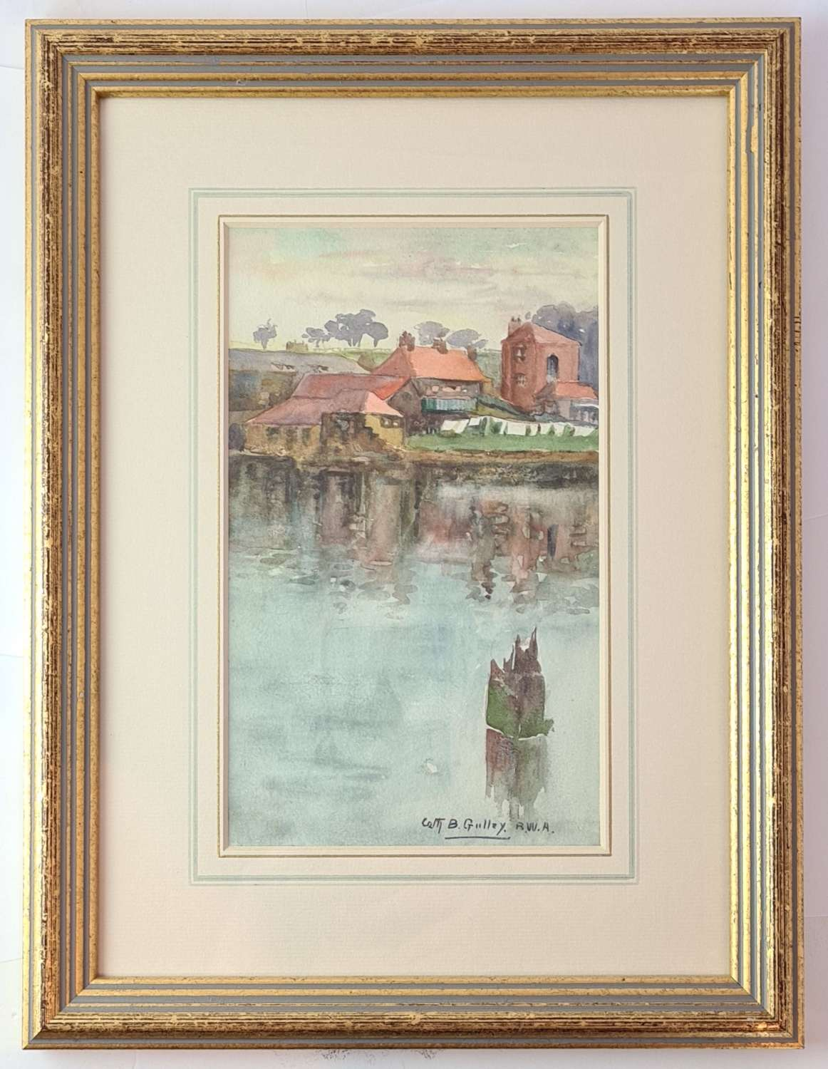 Watercolour by Catherine B. Gulley R.W.A.