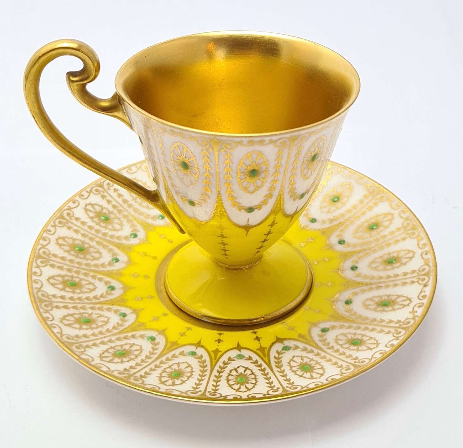 Royal Worcester Coffee Cup & Saucer