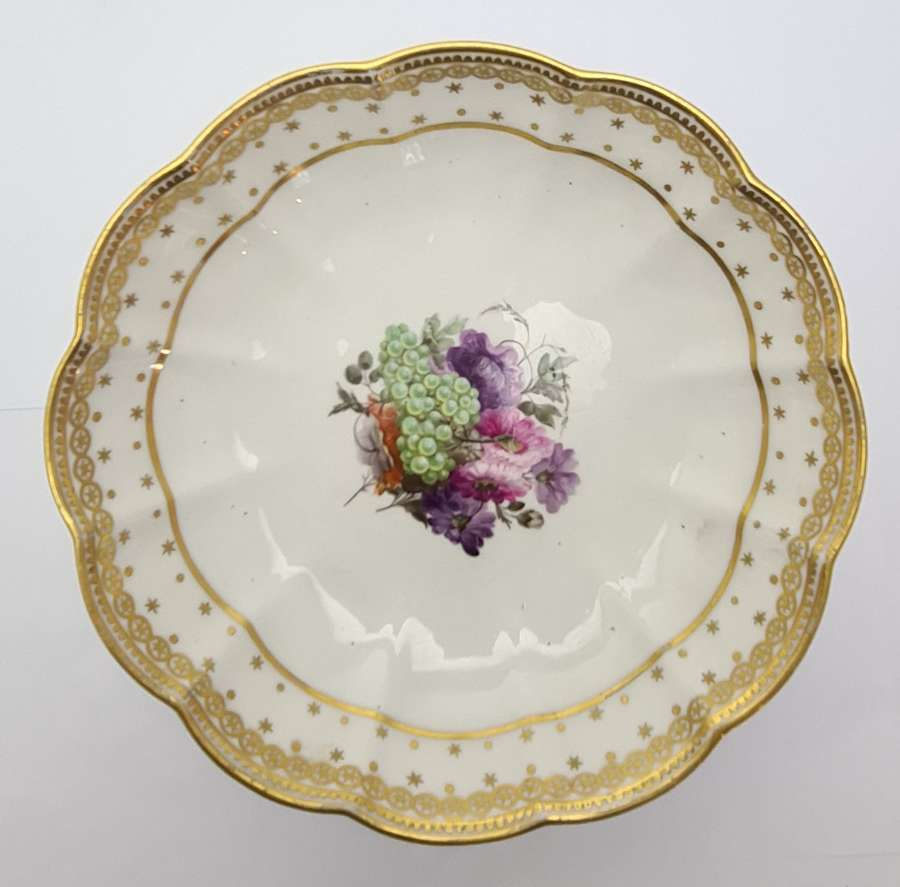 Derby Dish Painted by William Billingsley