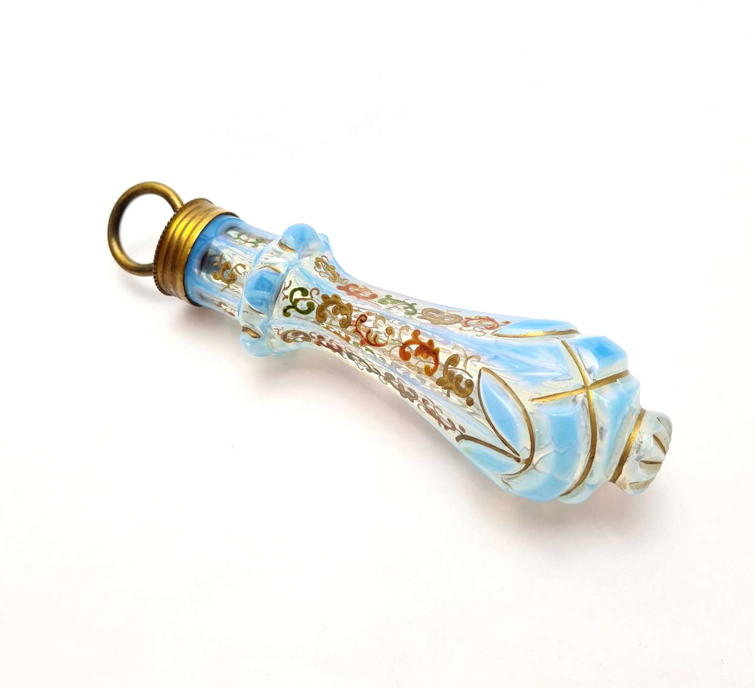 A Gilded Glass Bell Pull