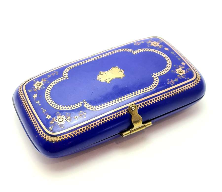 Lapis Lazuli Blue Lacquer Case