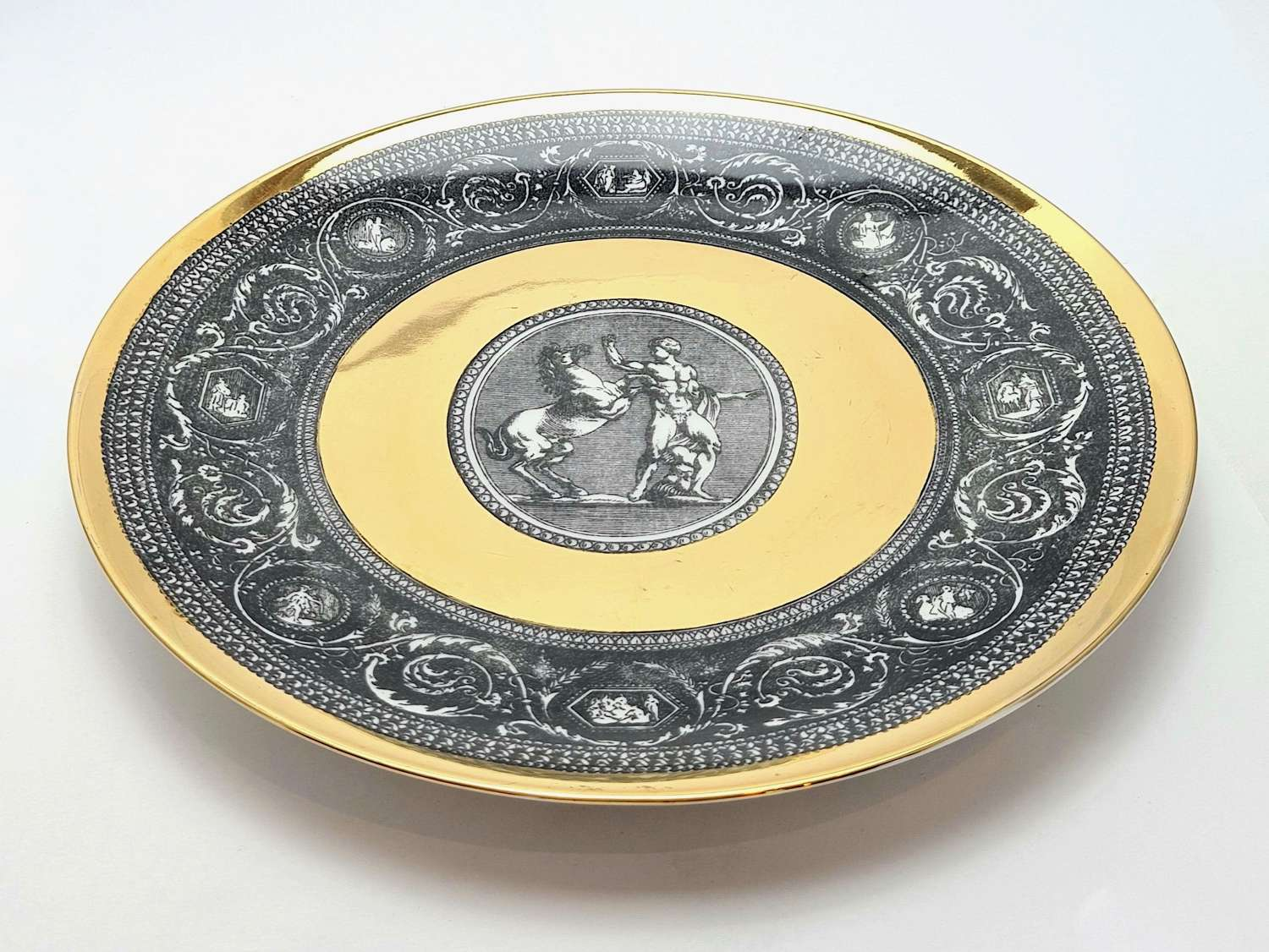 20th Century Plate by Fornasetti