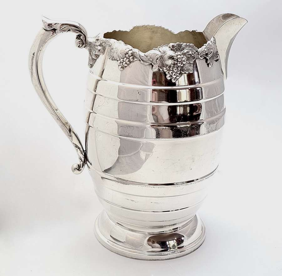 Silver Plated Pitcher Circa 1920