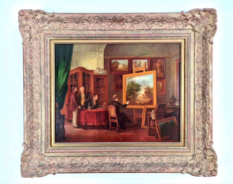 Peters, In the Artists Studio