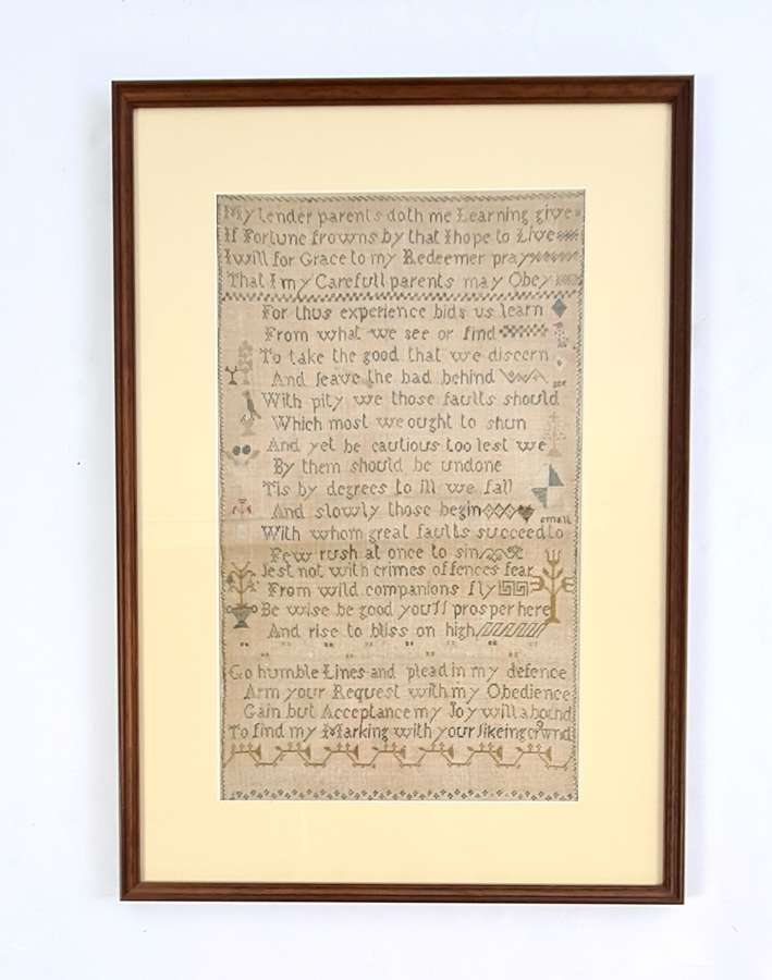 Sampler by Elizabeth Part