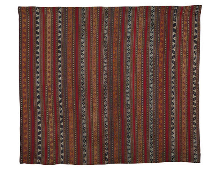 Antique Rugs, Persian Jajim (Flat-Weave)