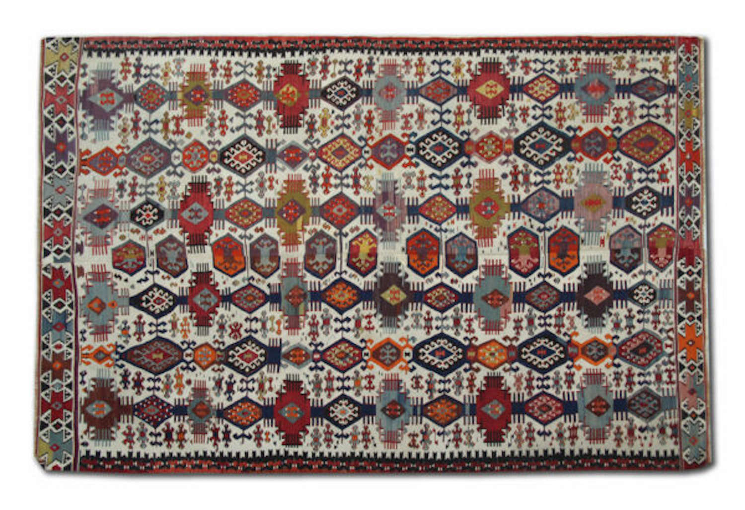 Antique Turkish Kilim Rug/ Turkish Kilim Rug