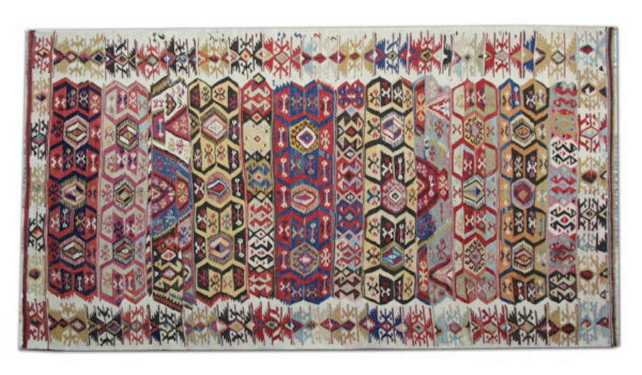 Kilim Rugs / Antique Kilim Rug, Turkish Kilim