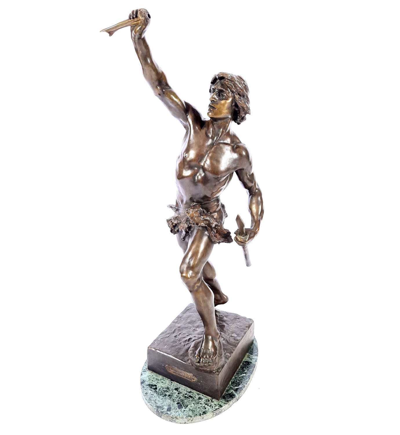 Emile Laporte Bronze Sculpture