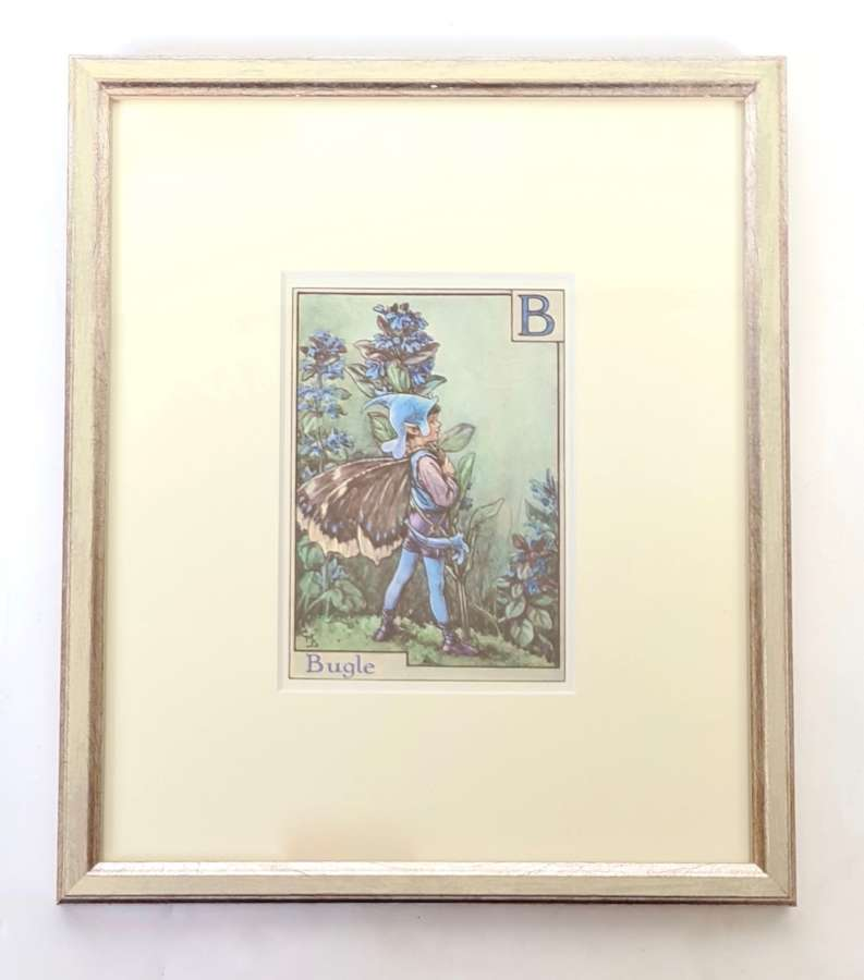 1920's Print by Cicely Mary Barker 'Bugle'