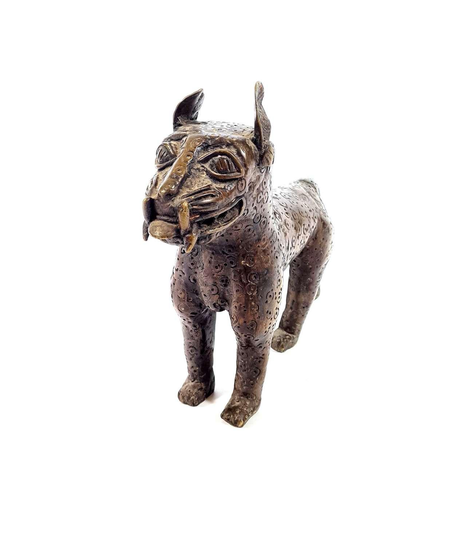 Bronze Temple Dog