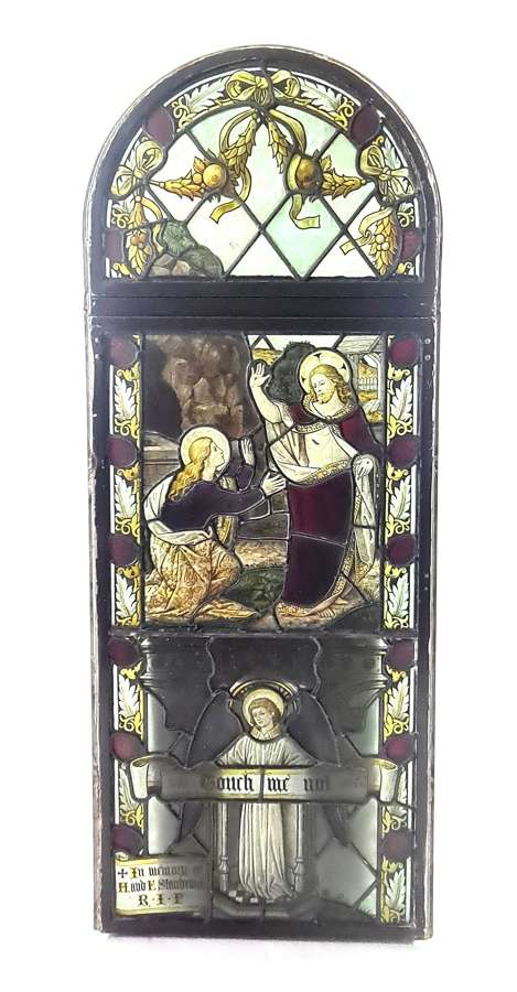 19th Century Church Stained Glass Window