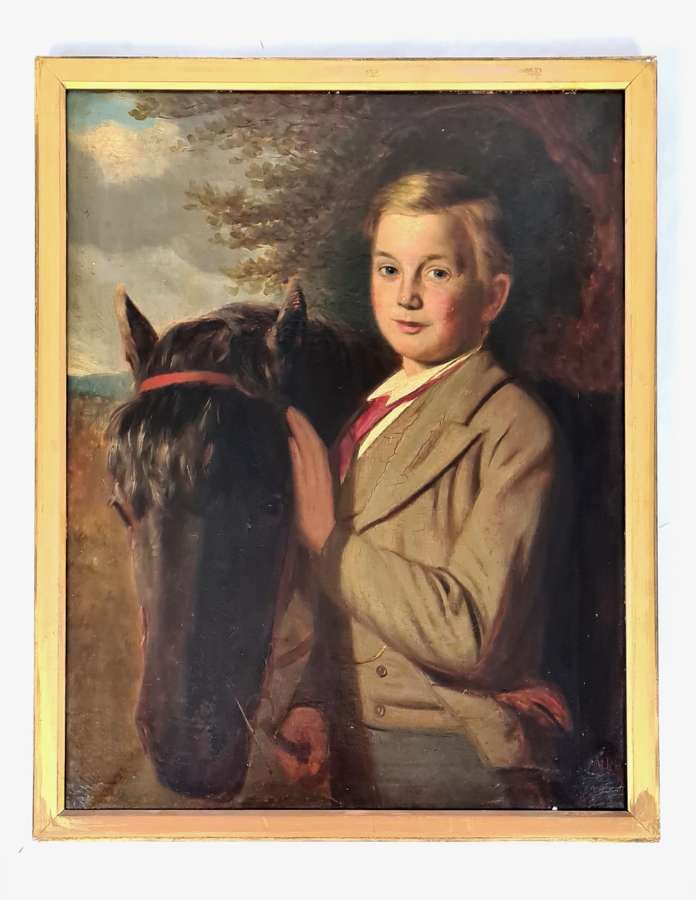M.Robinson Boy with Pony