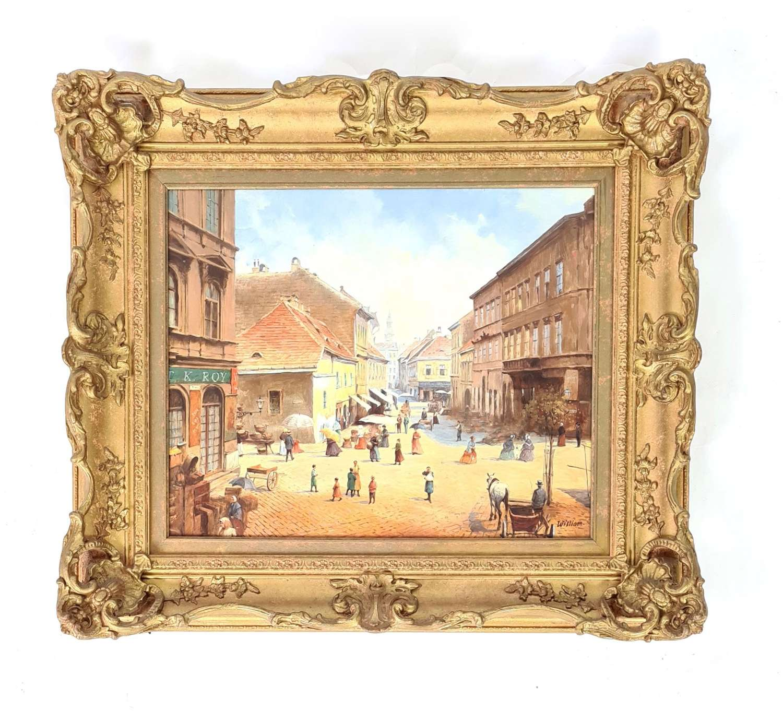 William Jozef Herazeg Continental Town