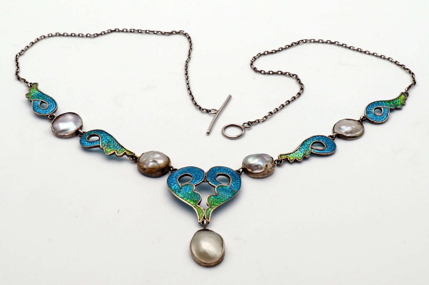 Liberty Art Nouveau necklace