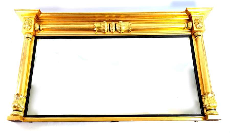 A Grand Scale Regency Mirror
