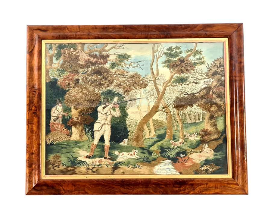 A Superb Needlework, Shooting Scene