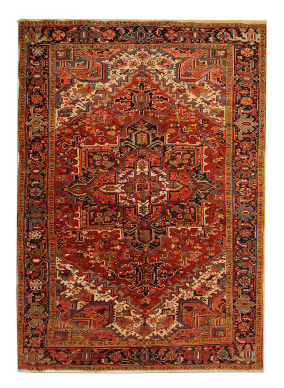 Antique Rugs Persian Heriz Carpet
