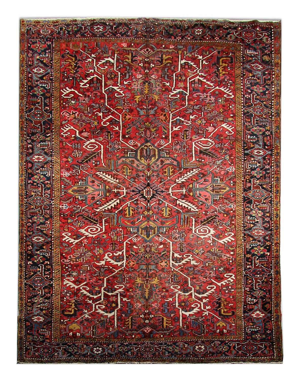 Antique Persian Carpet, Heriz Carpet
