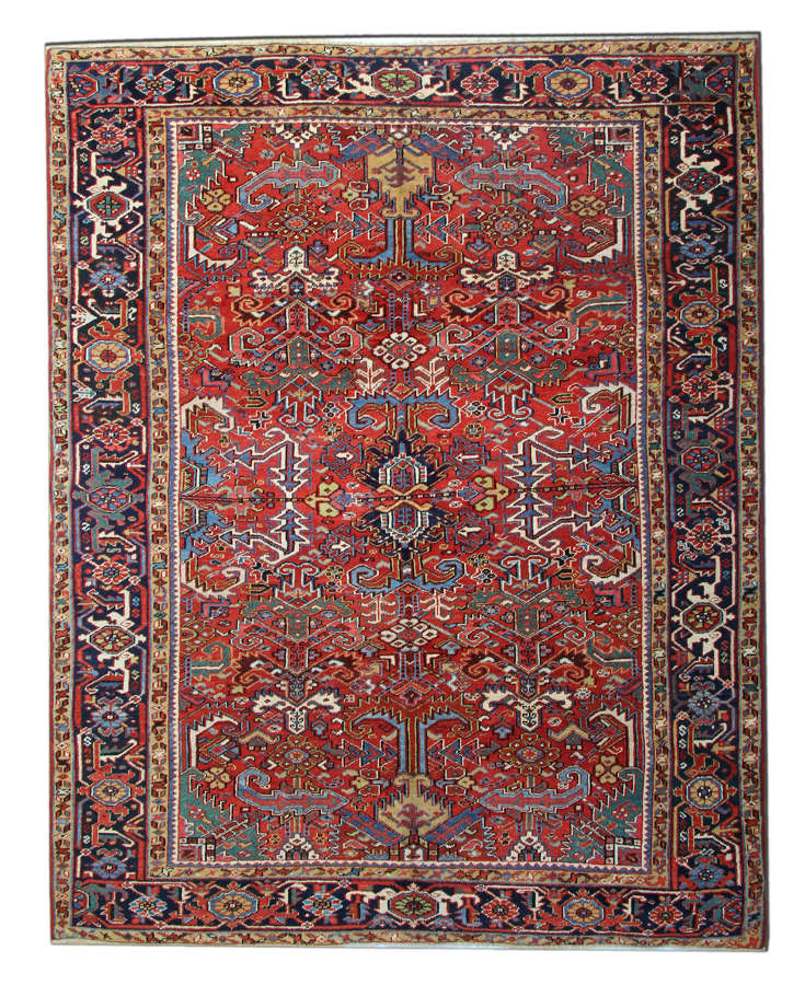 Antique Rugs, Antique Carpet, Persian Heriz Carpet