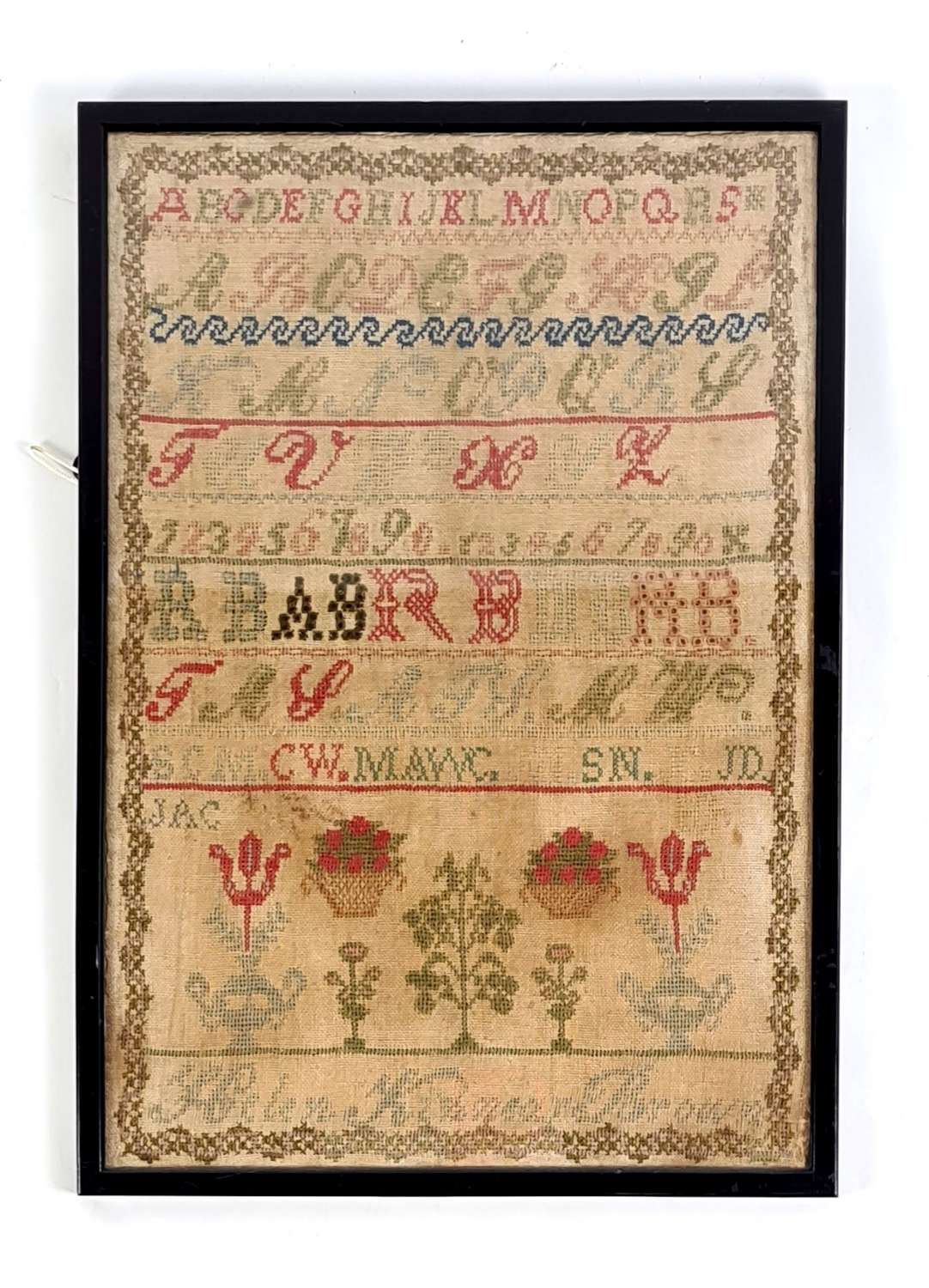 Sampler by Helen Kinnear Brown