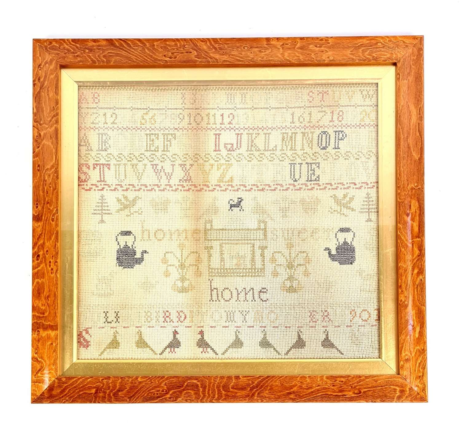 Sampler by Julia Bird
