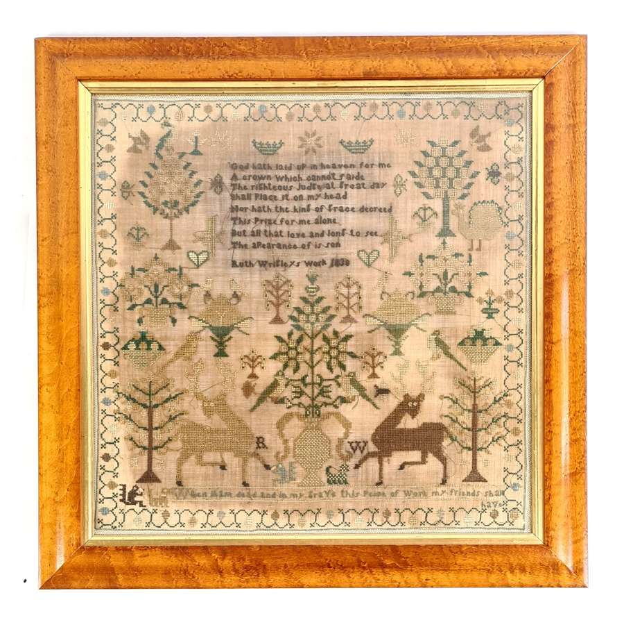 Sampler by Ruth Wrigley