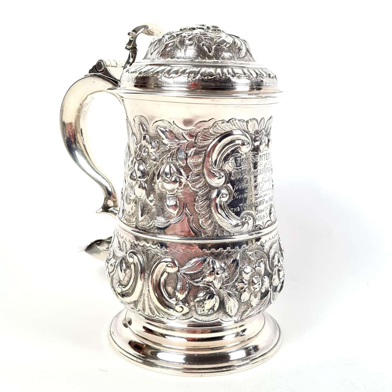 A George II Silver Tankard