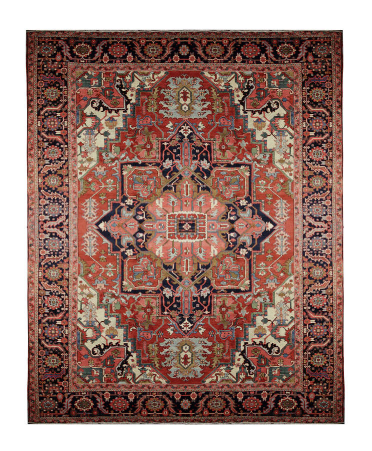 Antique Persian Rugs, Magnificent Heriz Carpet