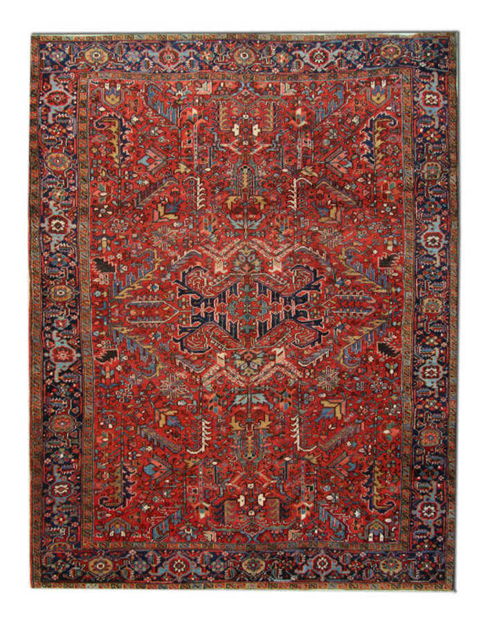Antique Carpets, Antique Rugs, Persian Heriz Rug