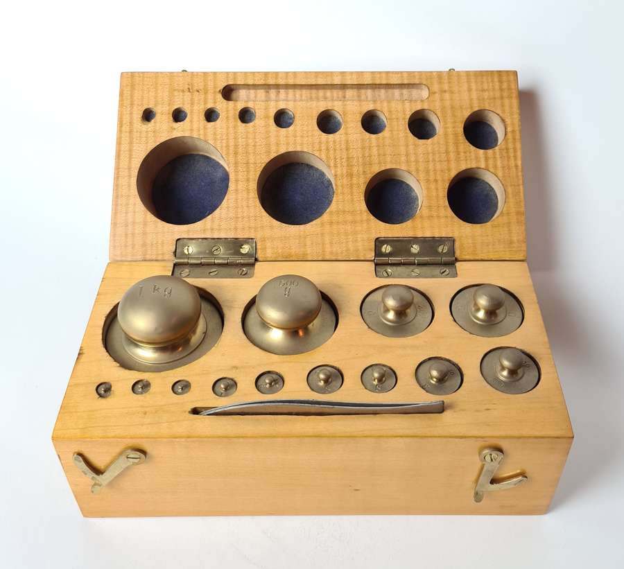 Set of Balance Scale Weights
