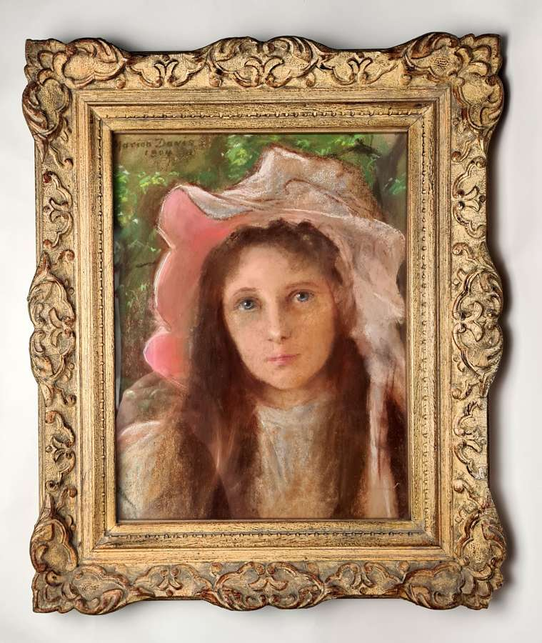 Marion Davis Portrait of a Young Girl