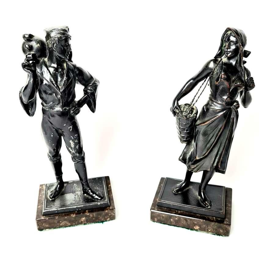 A Pair of Figures 'Street Scenes'
