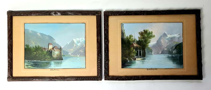 A Pair of Swiss Landscapes