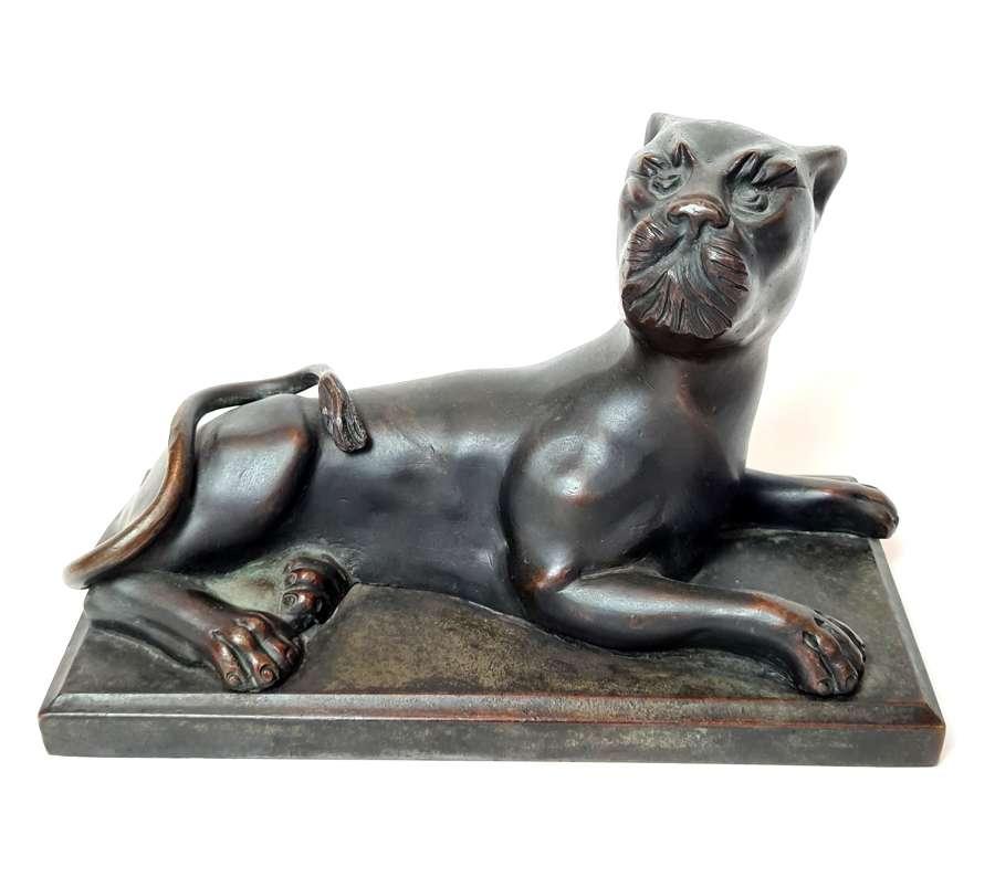 A Bronze Panther