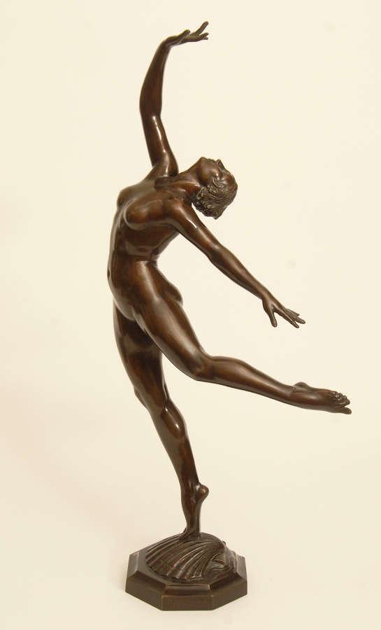 Italian Bronze 'Sea Nymph'
