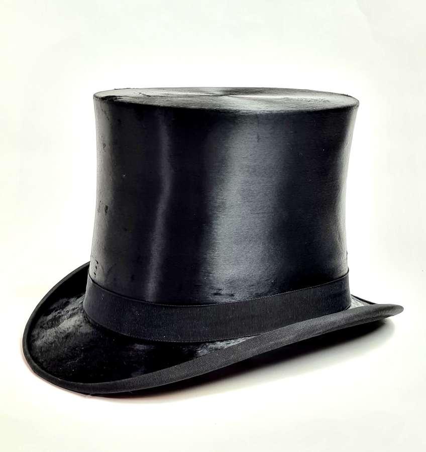 Silk Top Hat 7 3/8